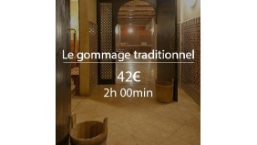 Gommage traditionnel